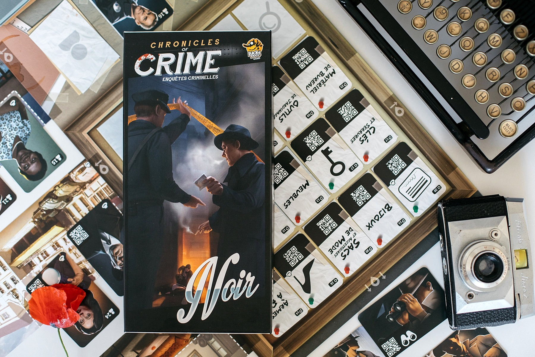 Chronicles of crime lucky duck games