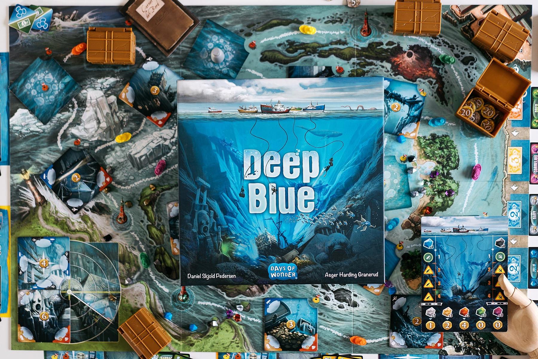 Deep blue day of wonders