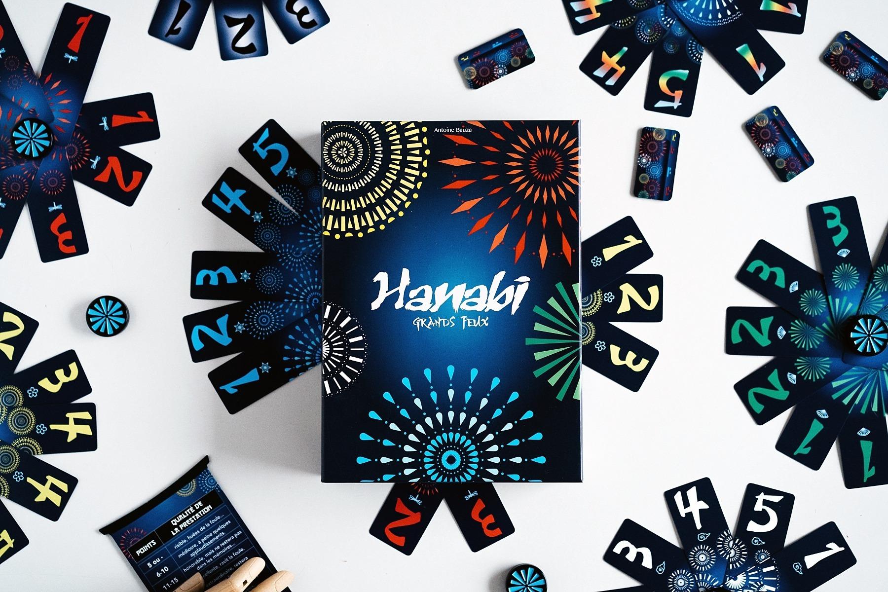Hanabi grands feux cocktail games jeu de société