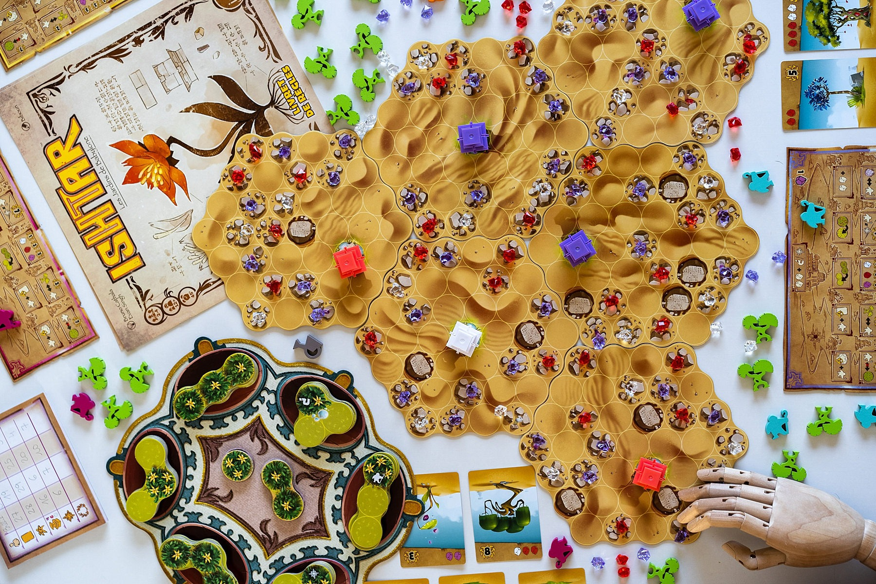Ishtar Iello jeu de société