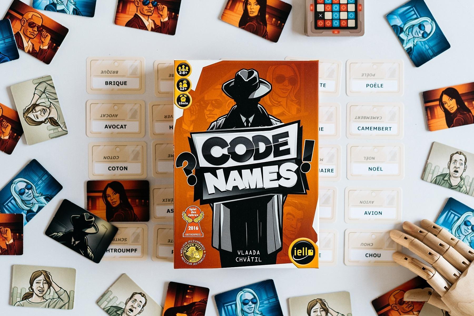 Code names Iello jeu de société