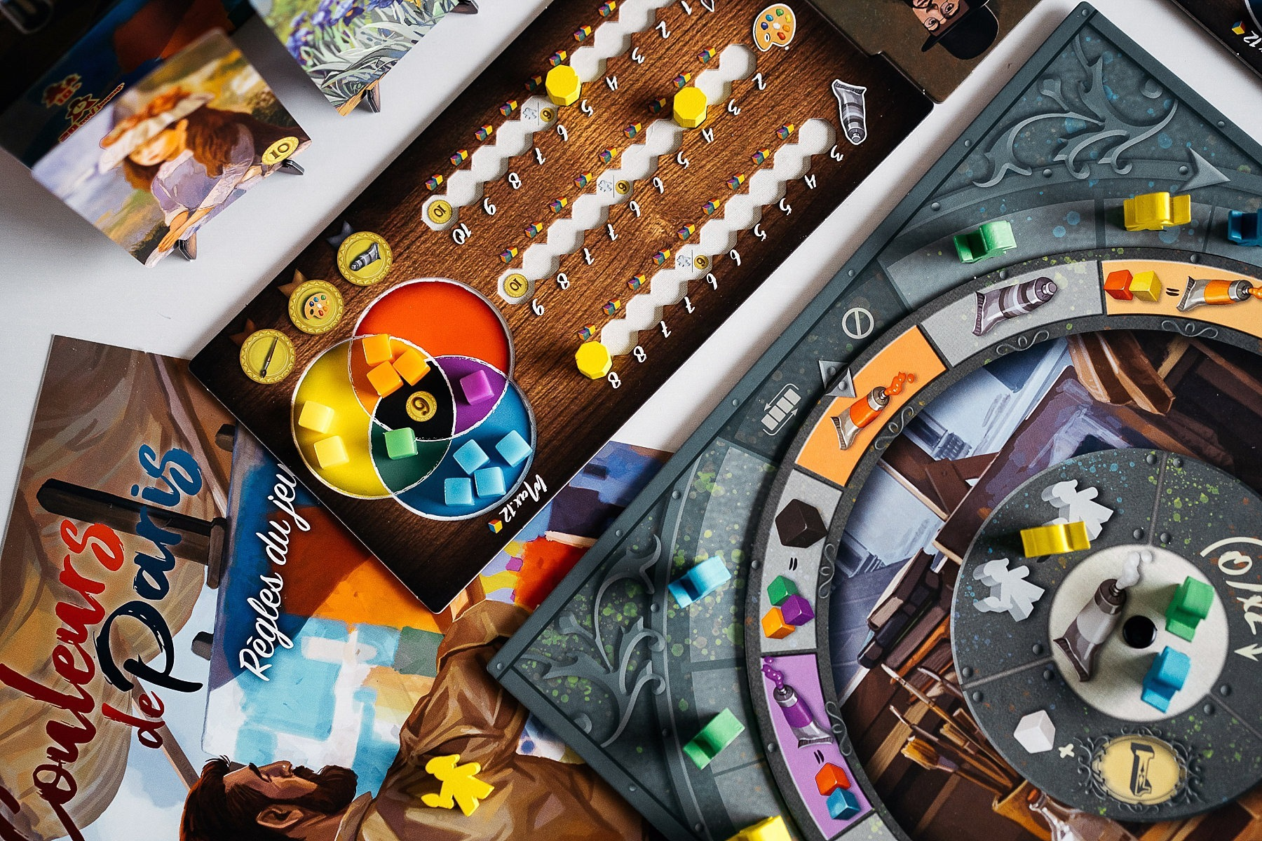 Couleurs de paris supermeeple jeu de société