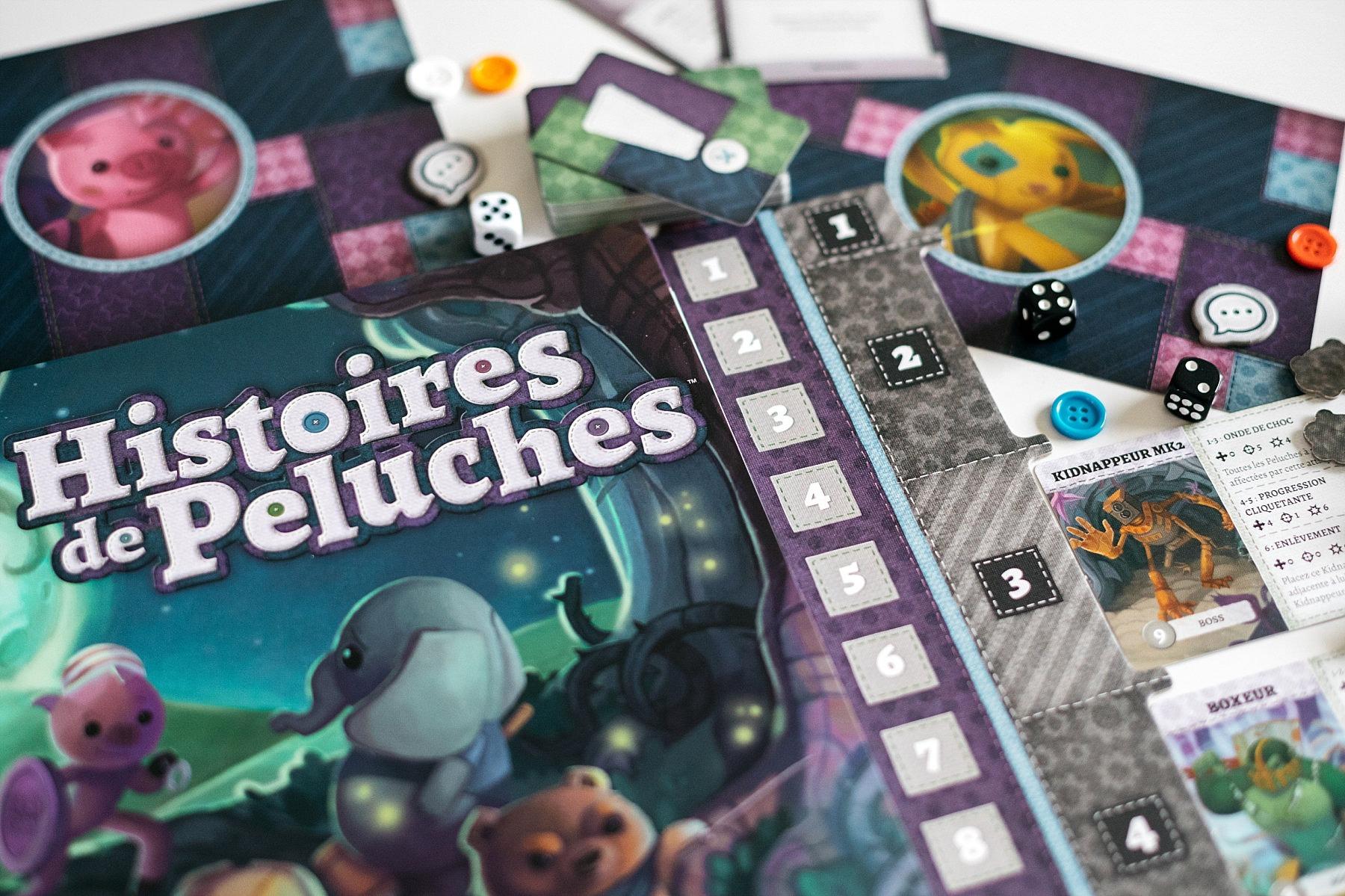 histoires de peluches plaid hat games