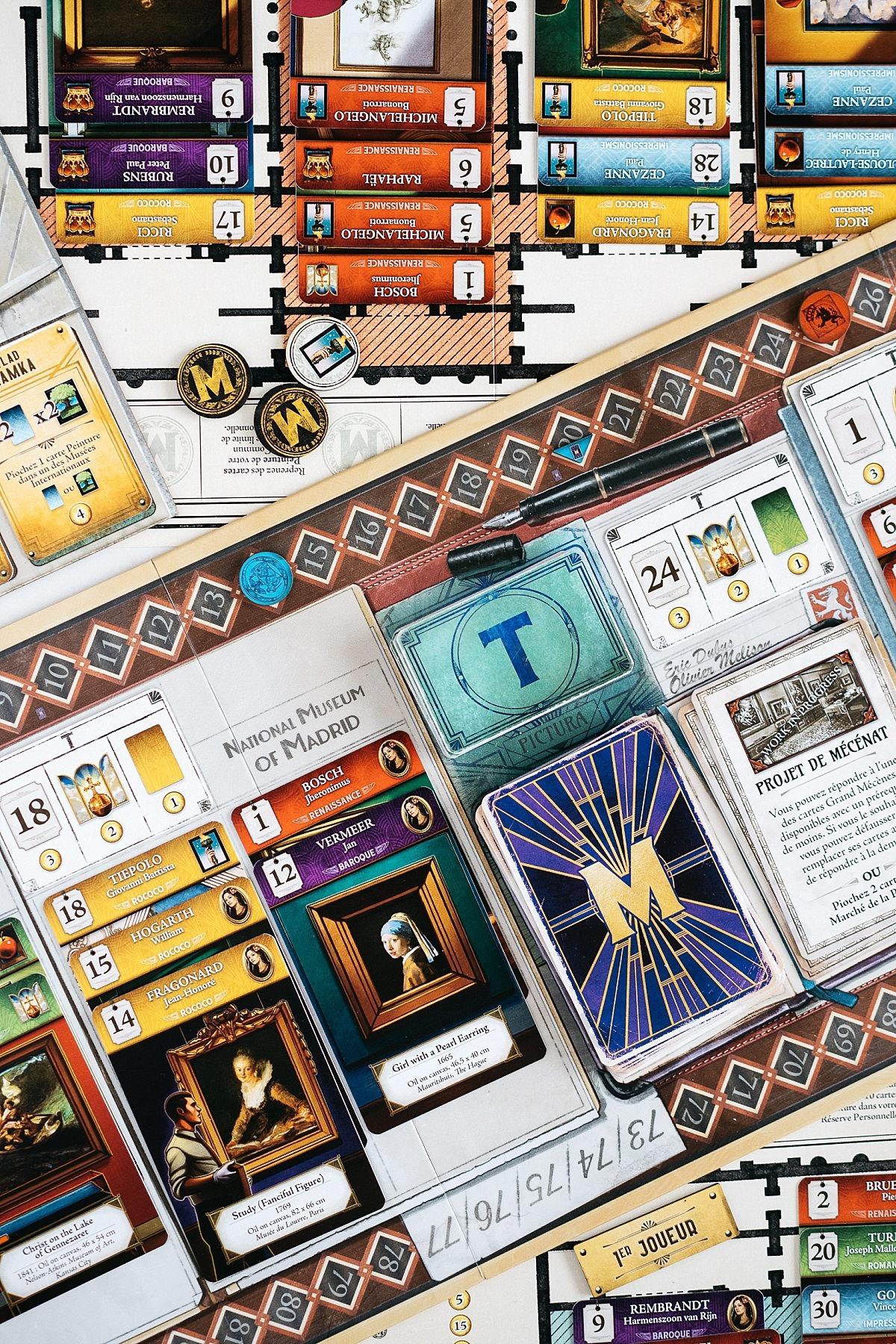 Museum pictura Holy grail games jeu de société