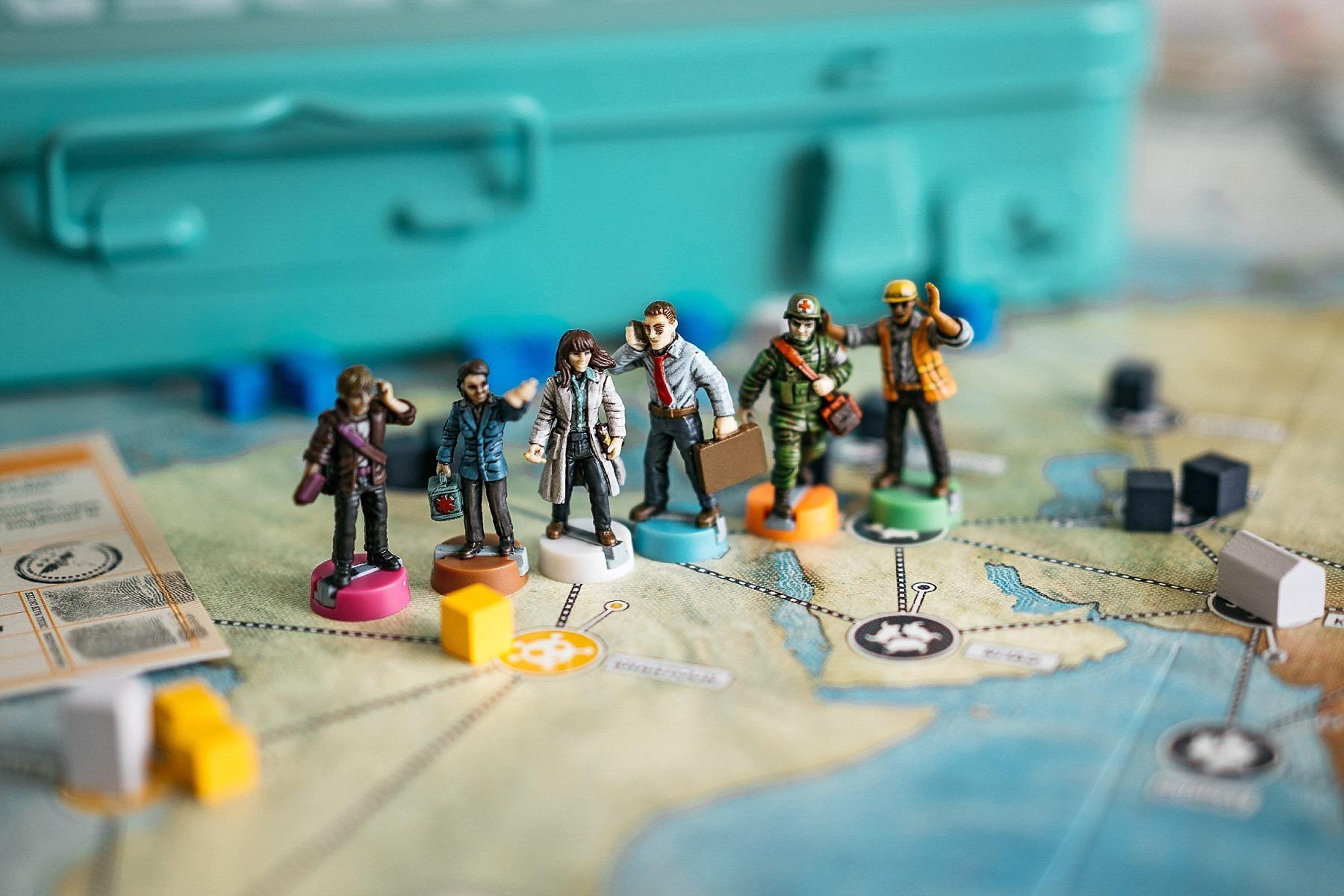 Pandemic Zman games jeu de société