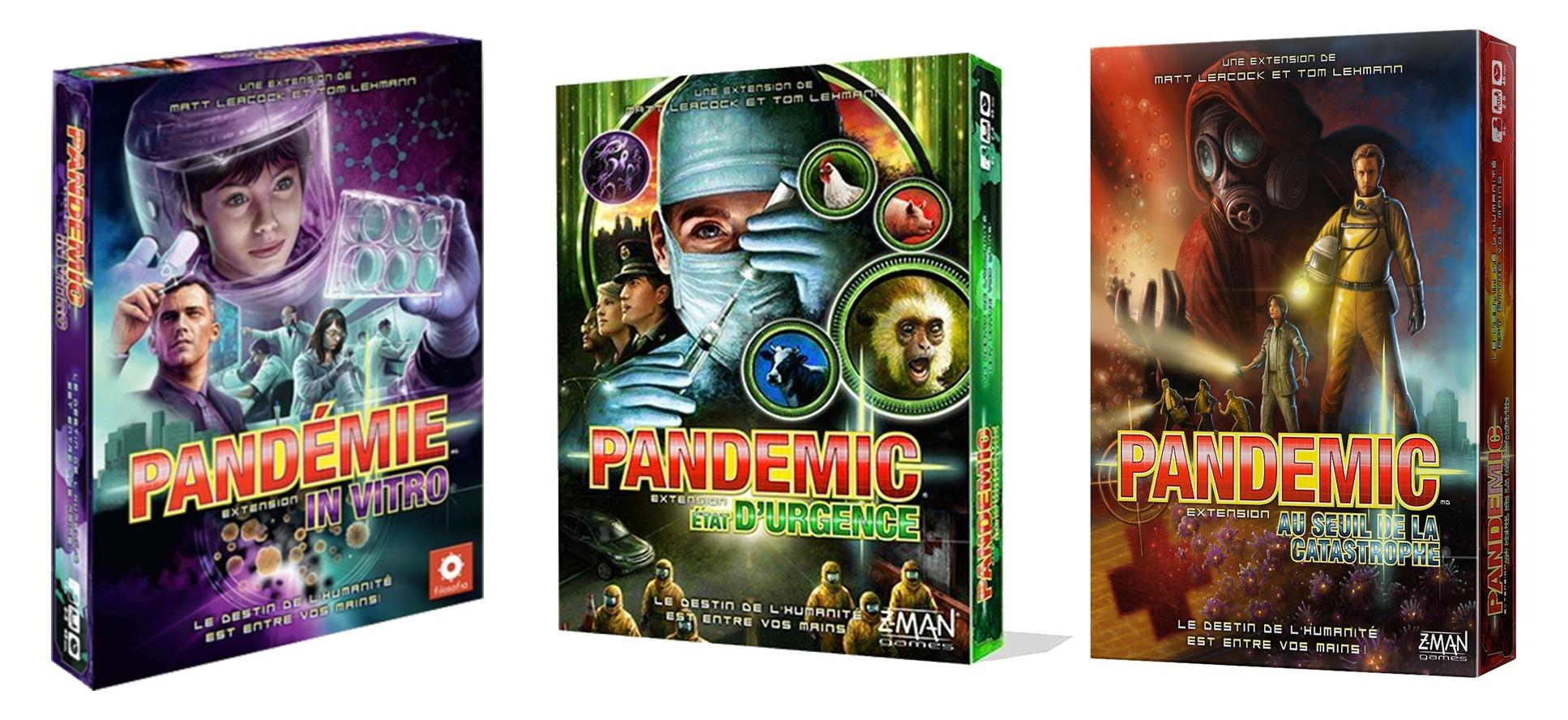 Pandemic jeu de société Zman games