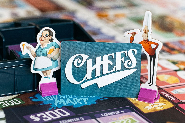 Rival Restaurants boardgame