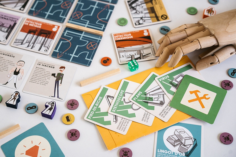 Burgle Bros jeu société Pixie games