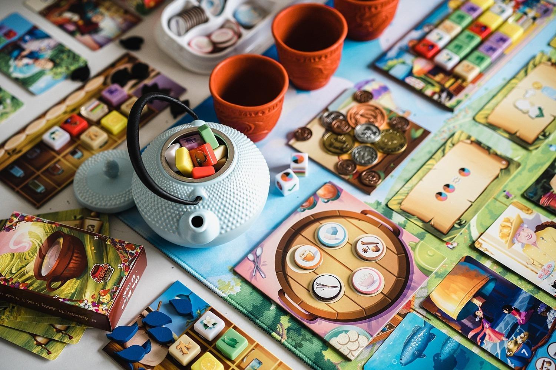 chai jeu société thé