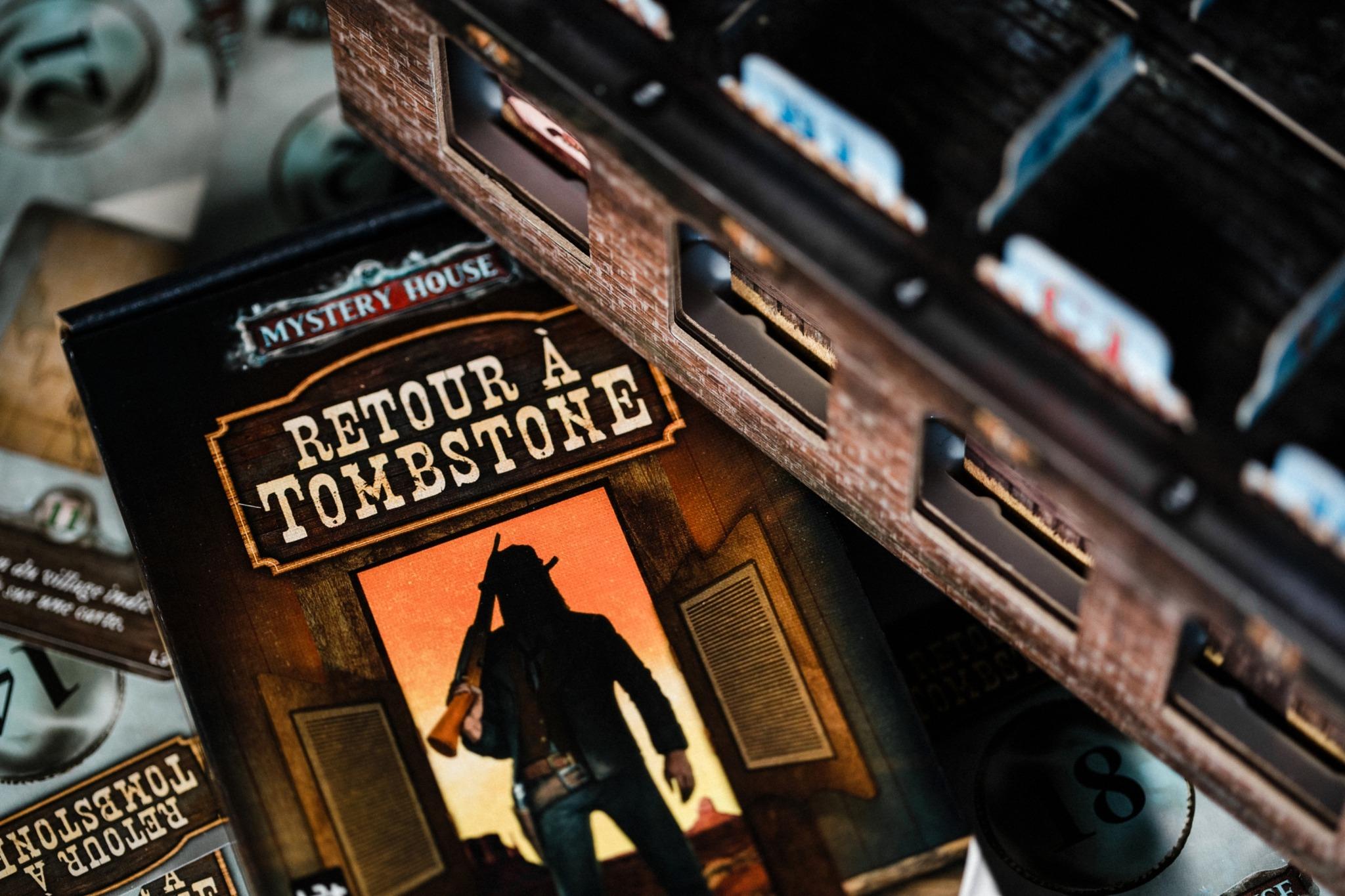 Mystery house retour à Tombstone Gigamic jeu de société