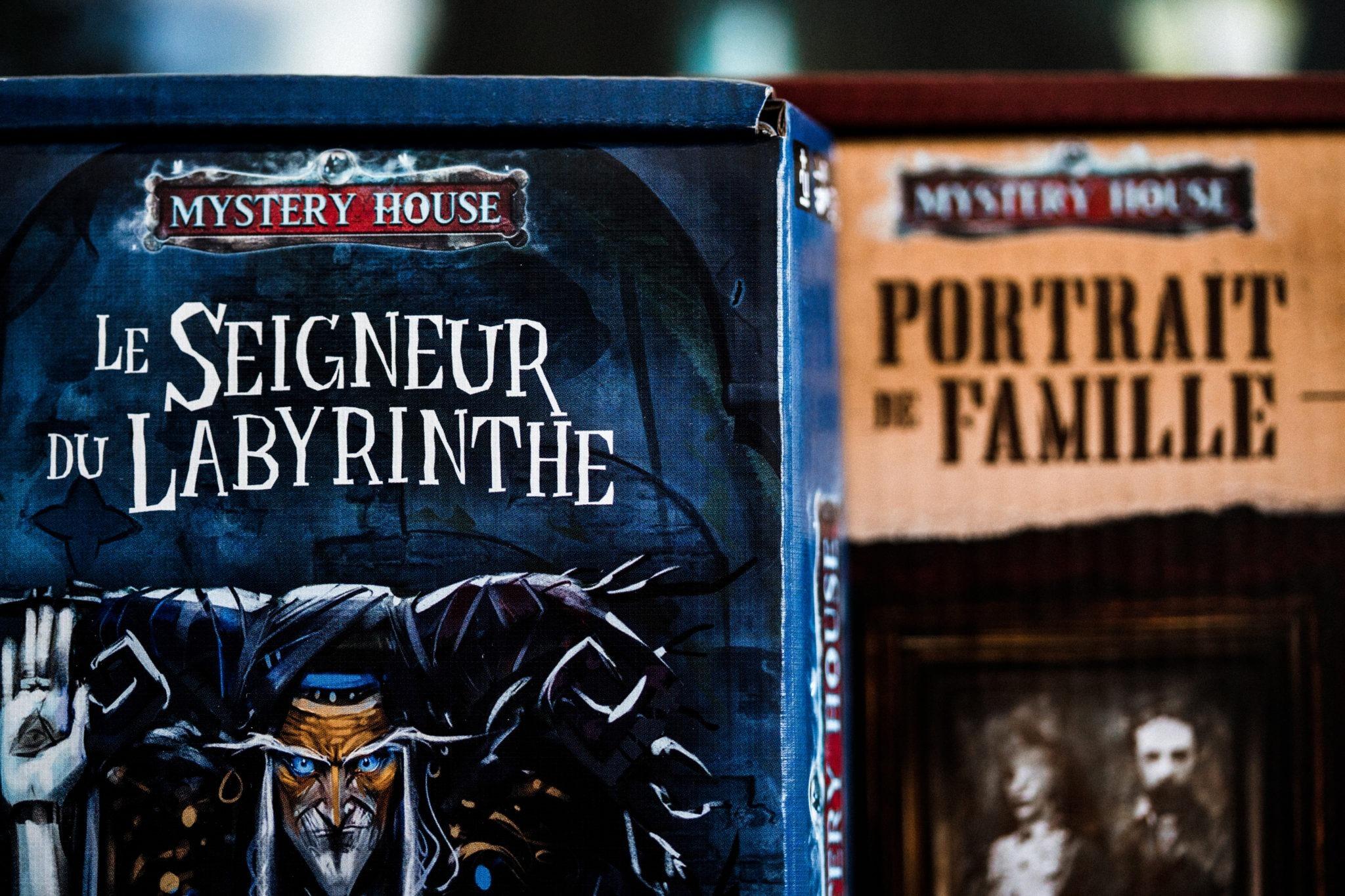 Mystery house gigamic jeu société escape