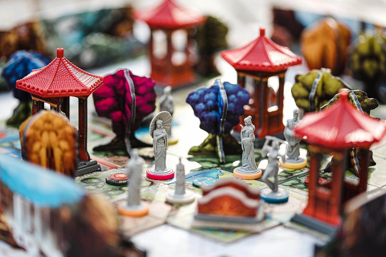 Tang garden lucky duck games jeu de société