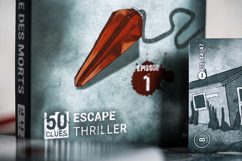 50 clues escape thriller