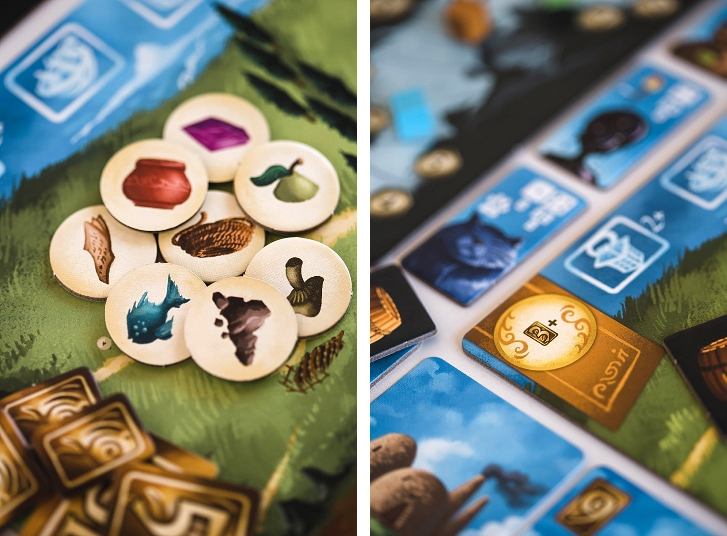 Lucky Duck Games above and below