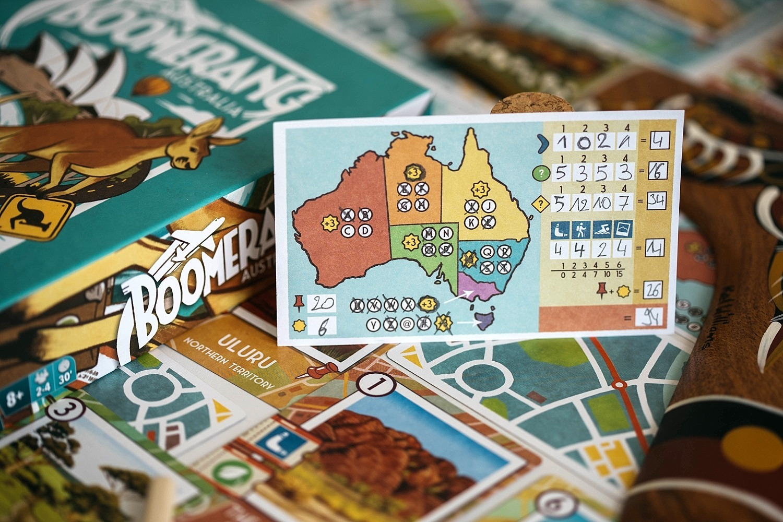 Boomerang Australia Matagot Asmodée jeu de société