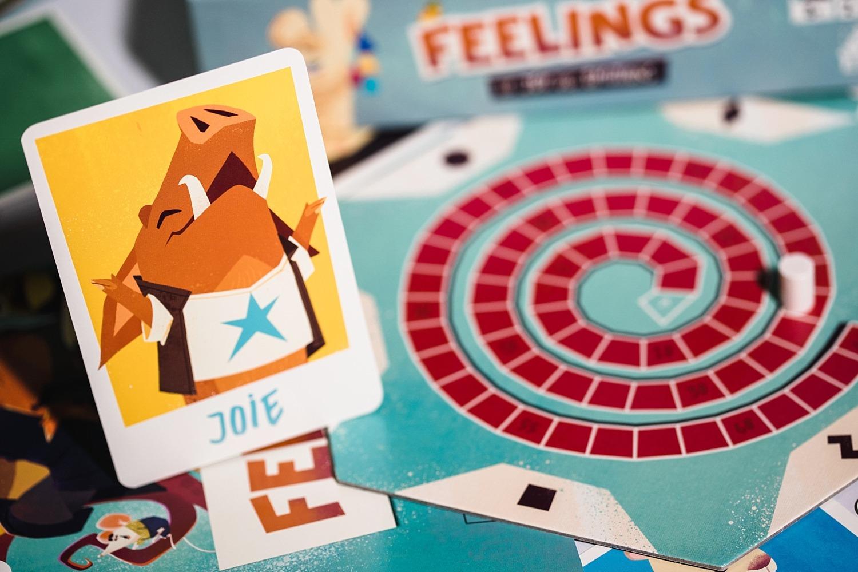 Feelings Act in Games