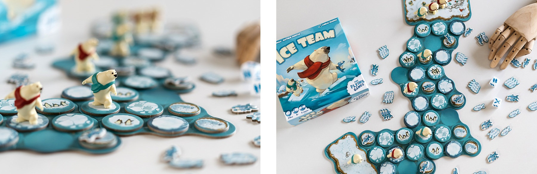 Ice team The flying games jeu de société