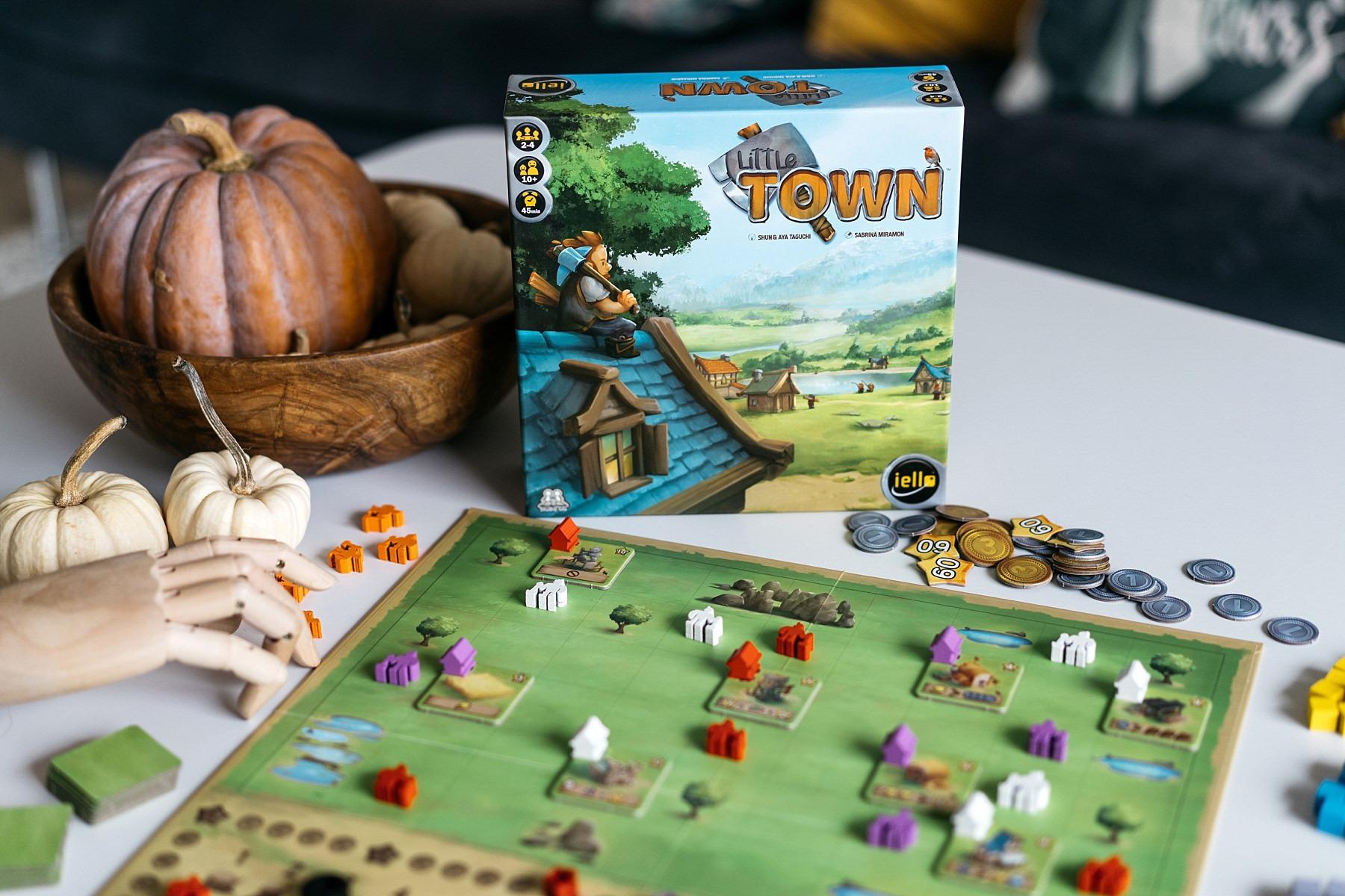 Little town Iello jeu de société