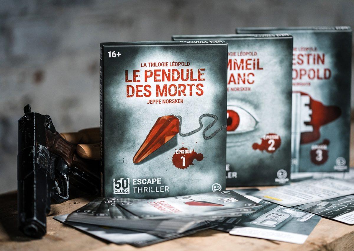 50 clues escape thriller Norsker