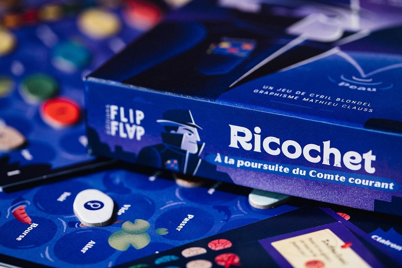 Ricochet flip flap