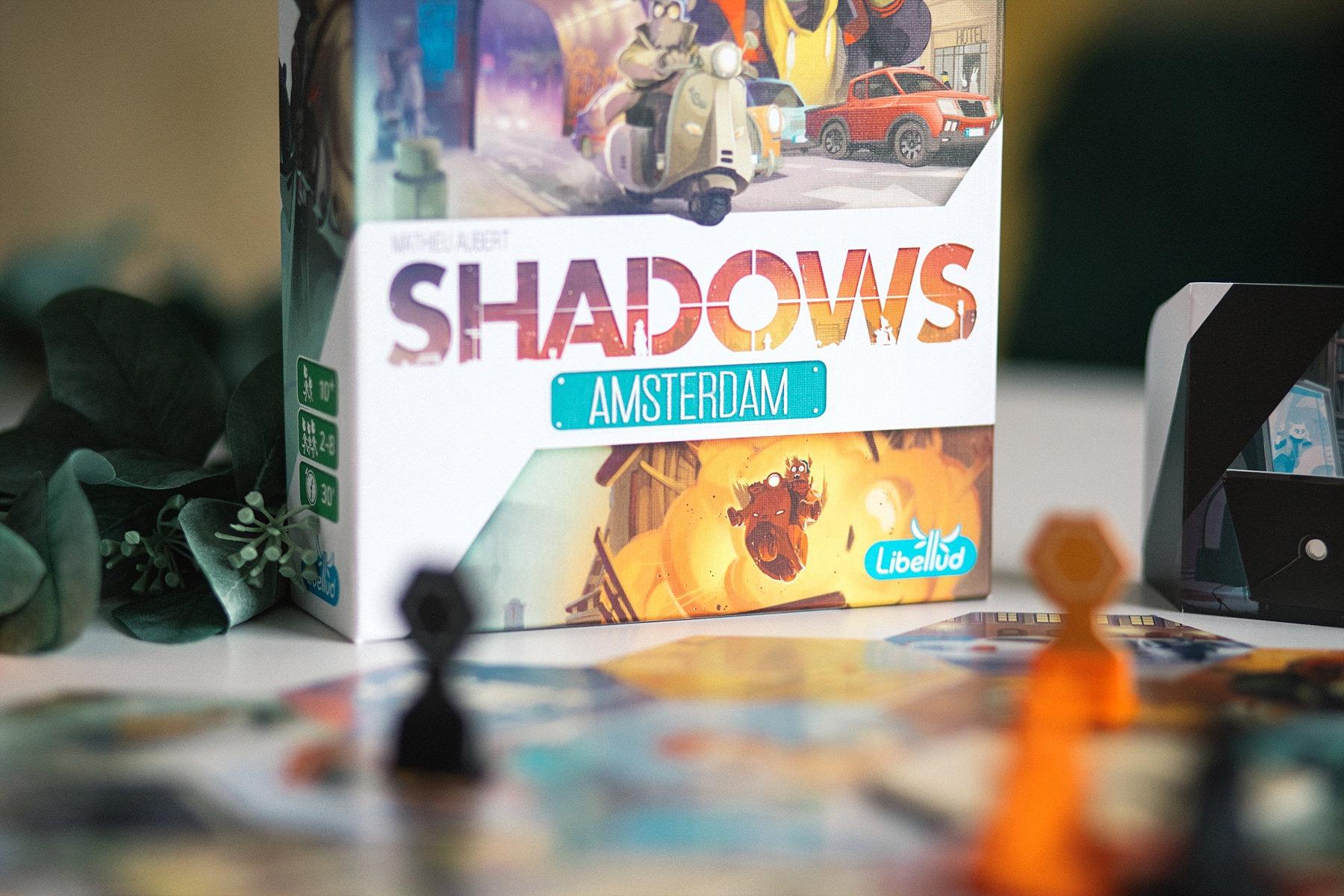 Shadows Amsterdam libellud Asmodée