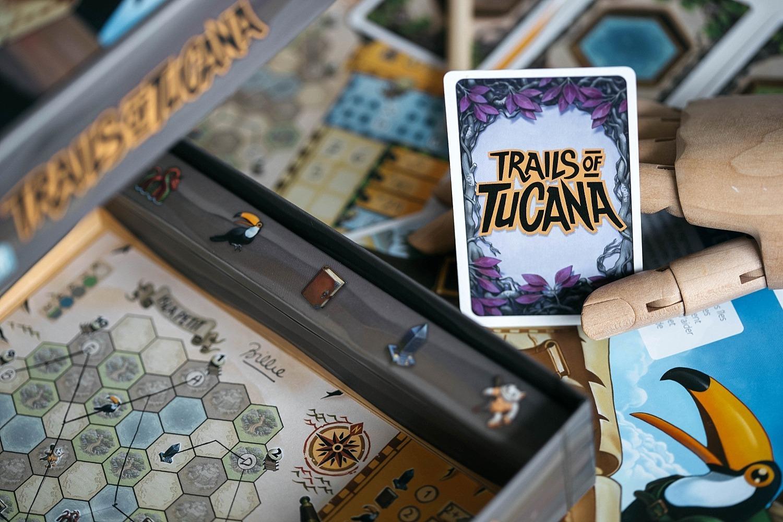 Trails of Tucana matagot jeu de société