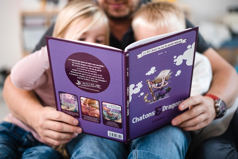 chatons & dragons makaka editions le choukra BD