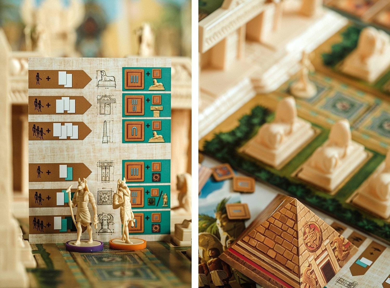 Cléopâtre et la société des architectes lucky duck games