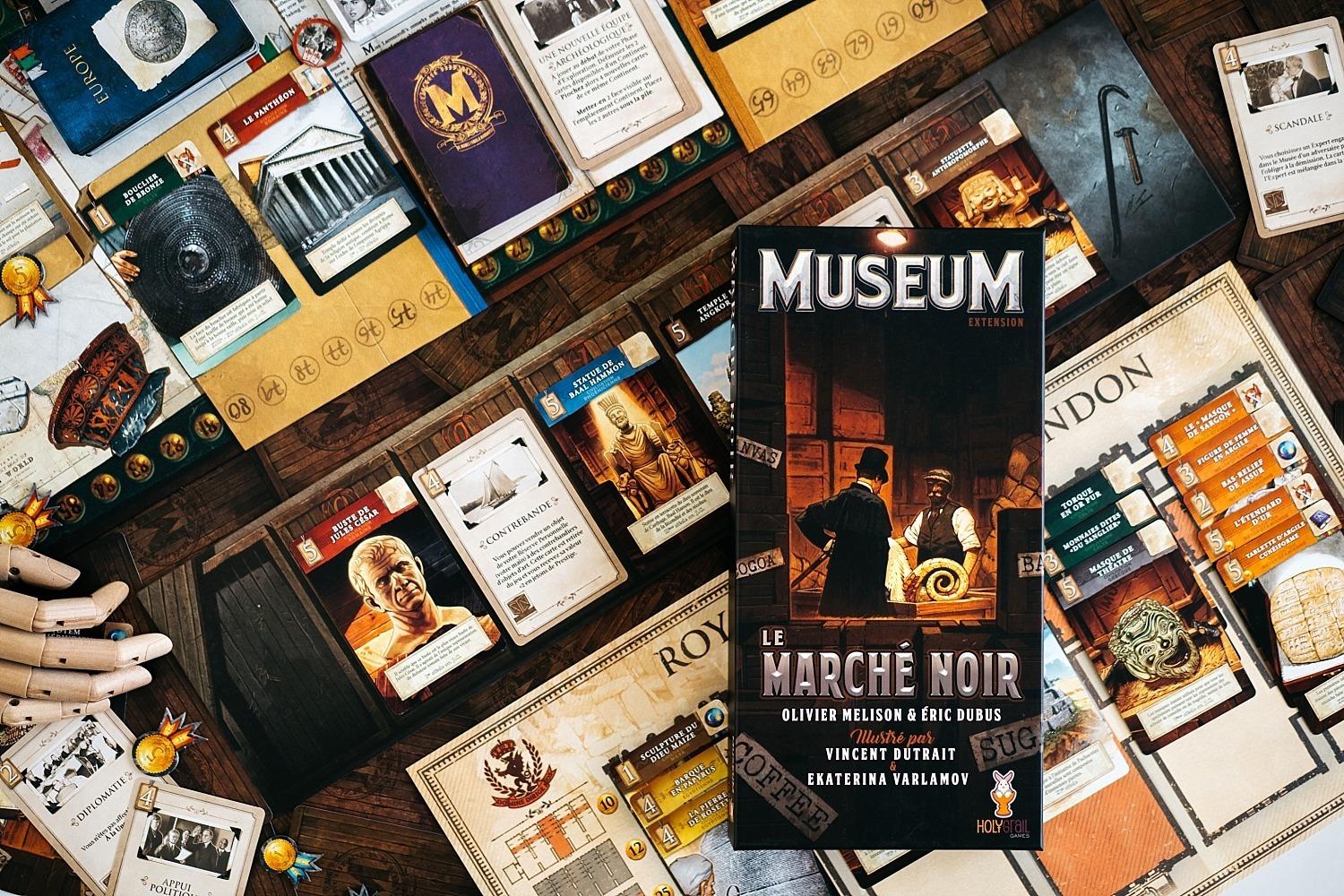 Museum extension le marché noir holy grail games