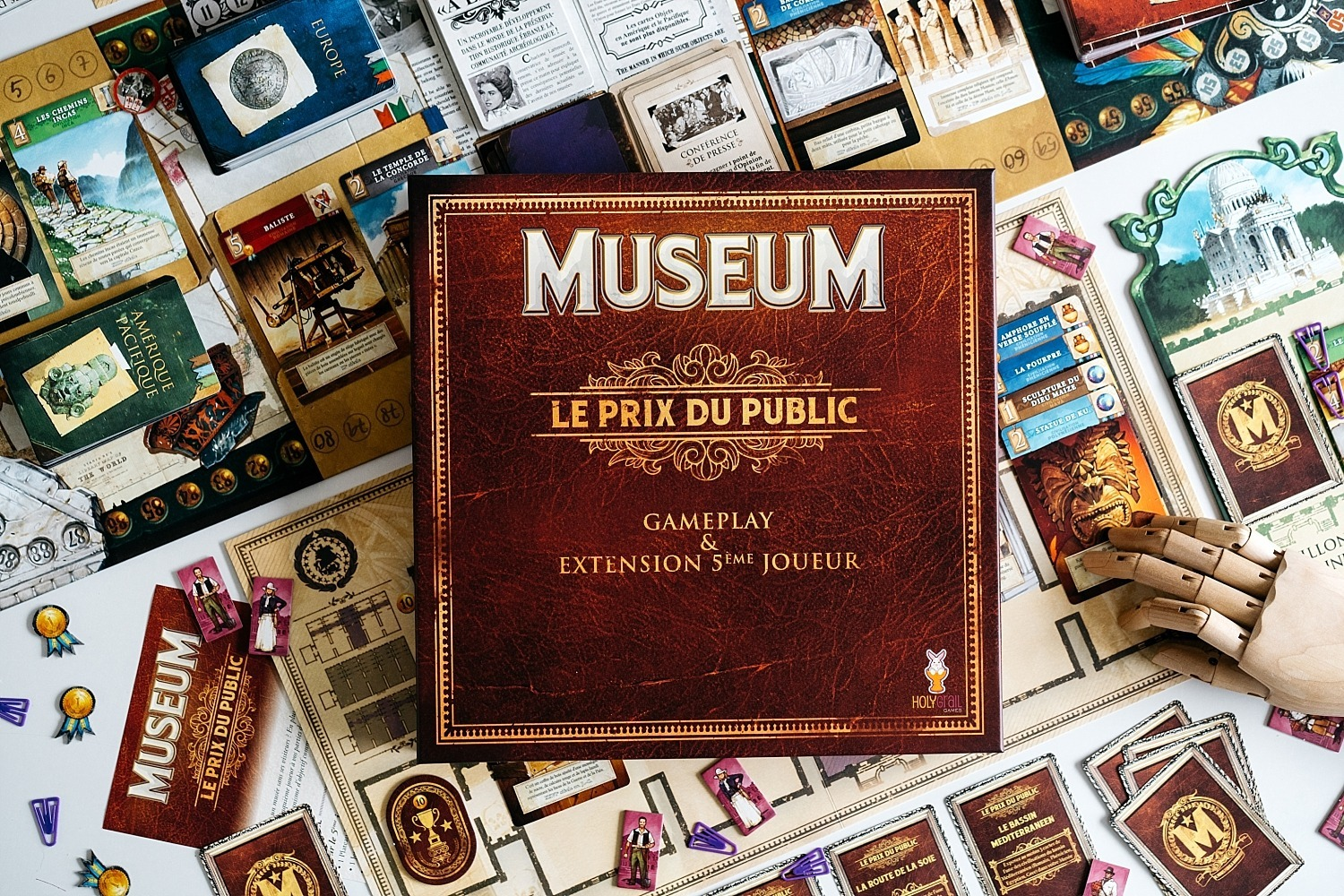 Museum extension le prix du public holy grail games