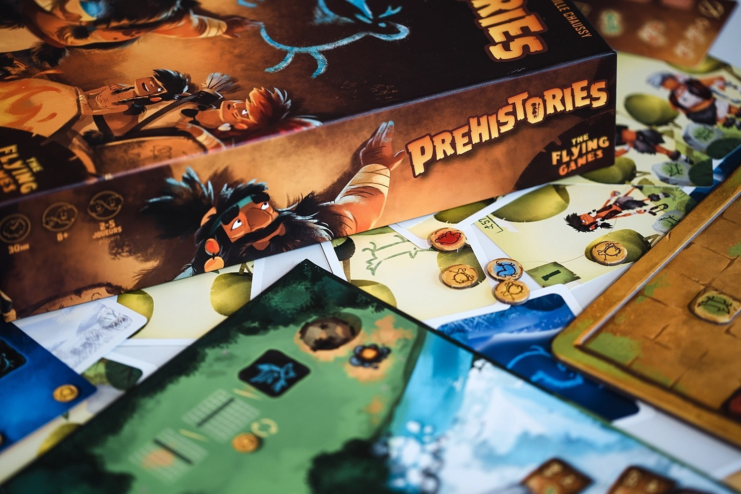 prehistories the flying games