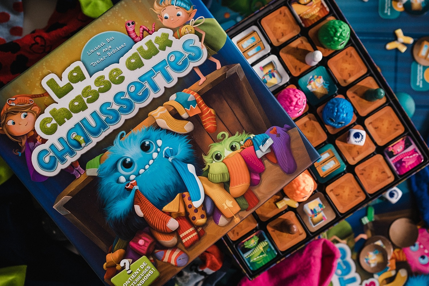 Chasse aux chaussettes lifestyle boardgame