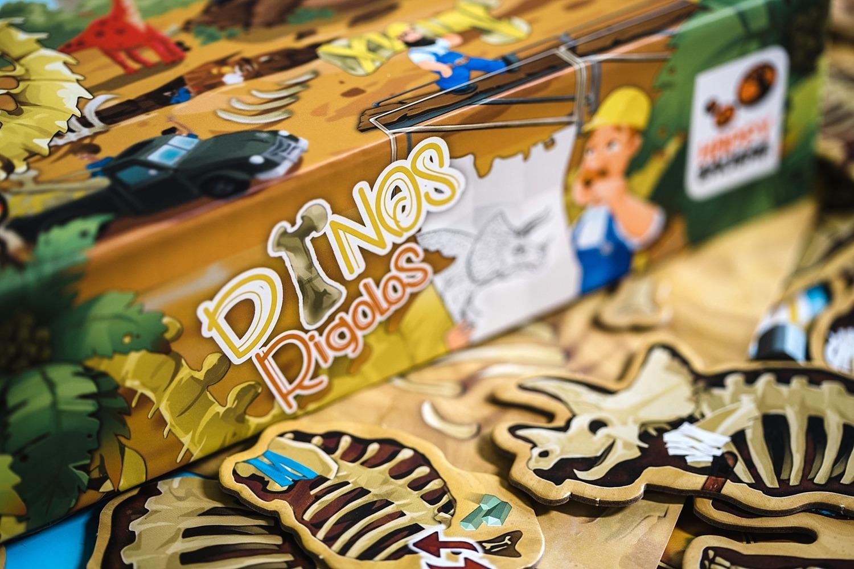 Dinos Rigolos jeu société happy baobab