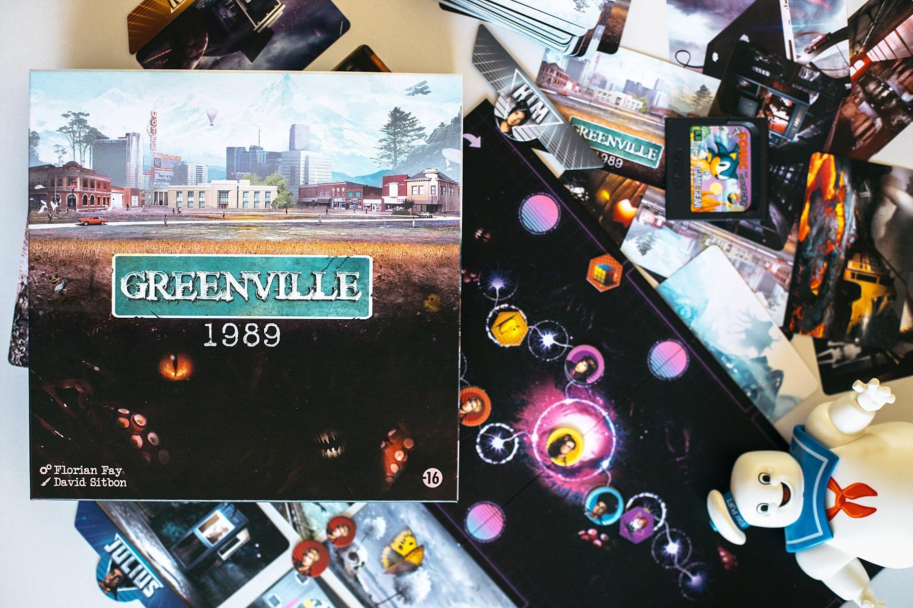 Greenville 1989 jeu de société