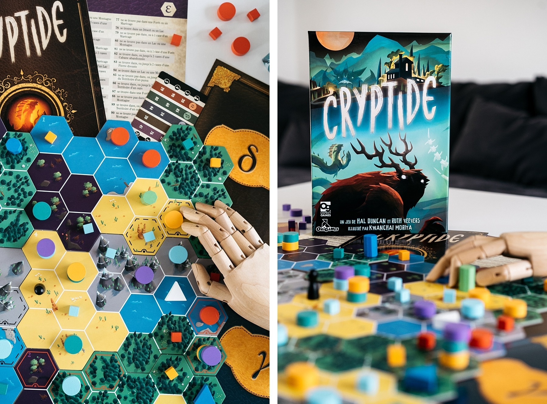Cryptide origames