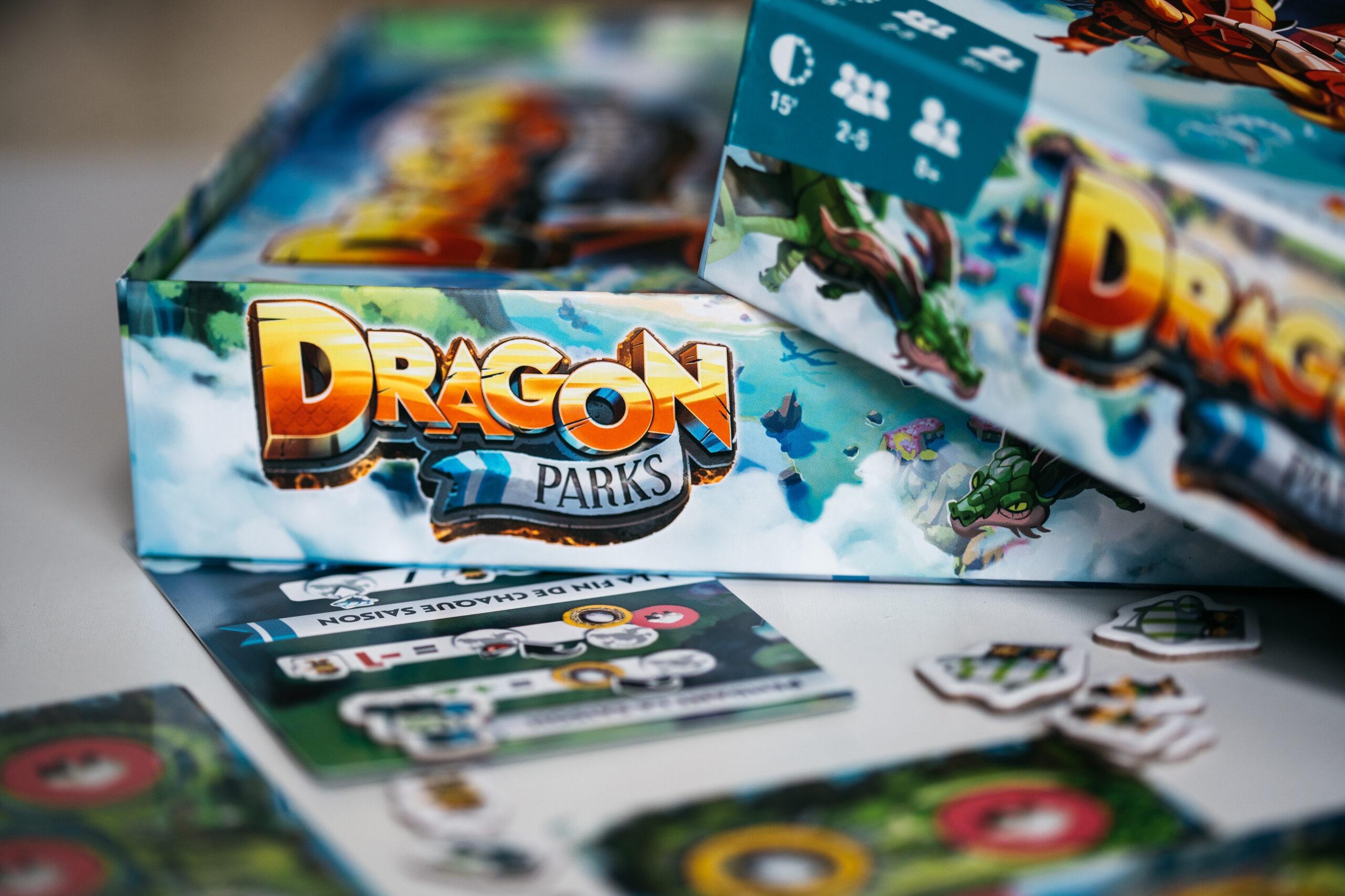 Dragon parks ankama jeu de société
