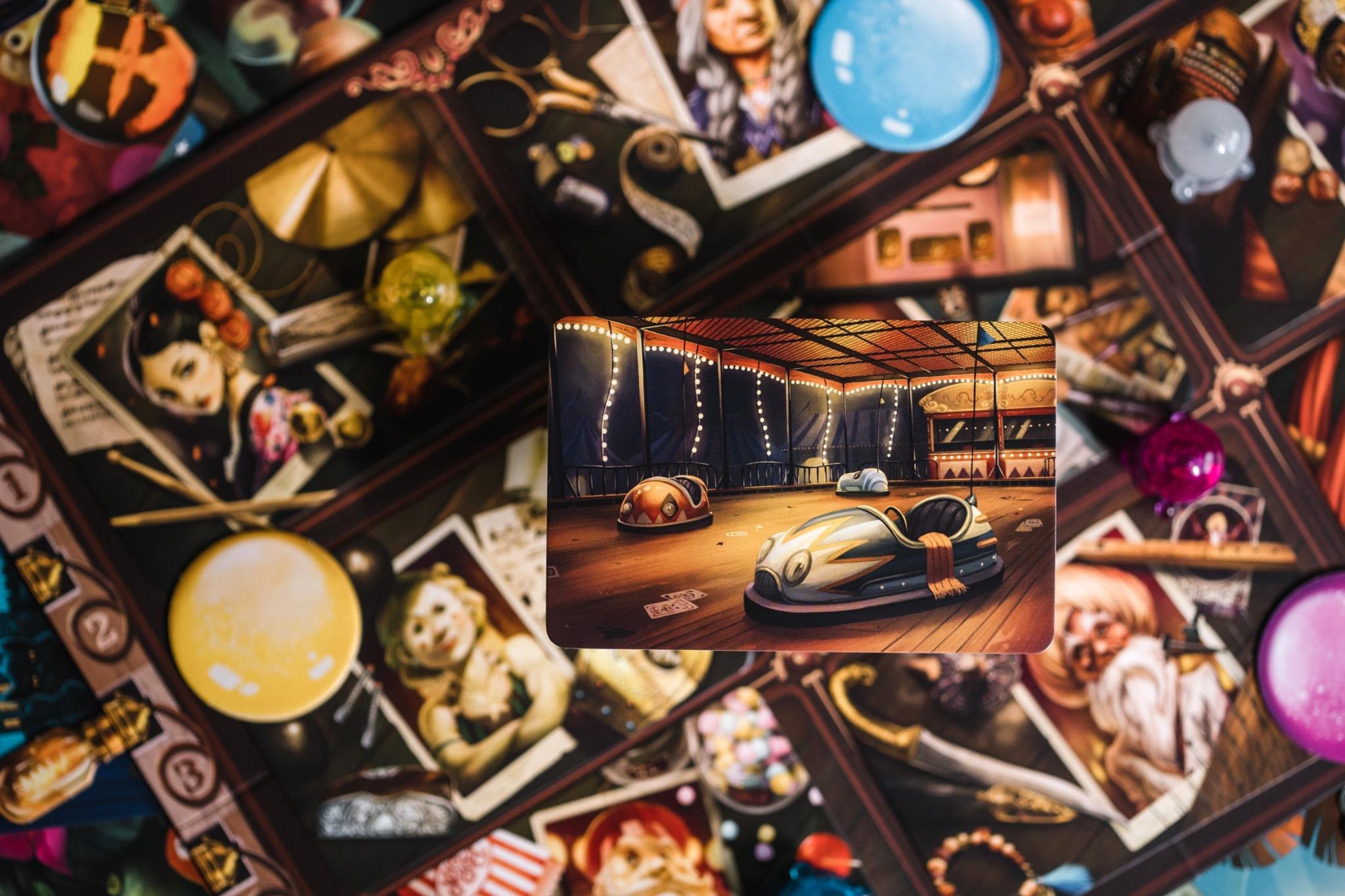 Mysterium park libellud asmodée jeu de société communication dixit