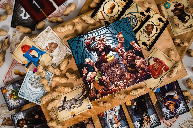 Peanut club Lumberjacks studio Blackrock games jeu de société