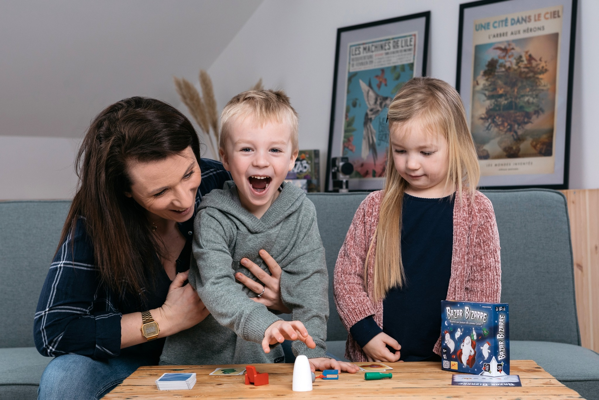 Bazar bizarre gigamic jeu de société famille