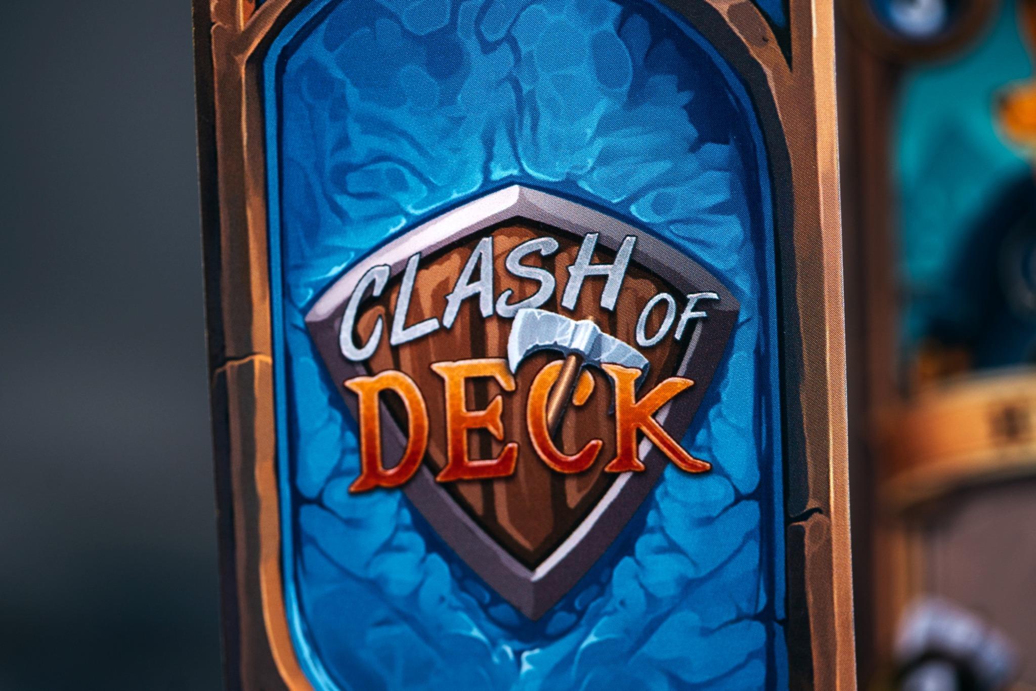 Clash of deck grammes editions jeu de société