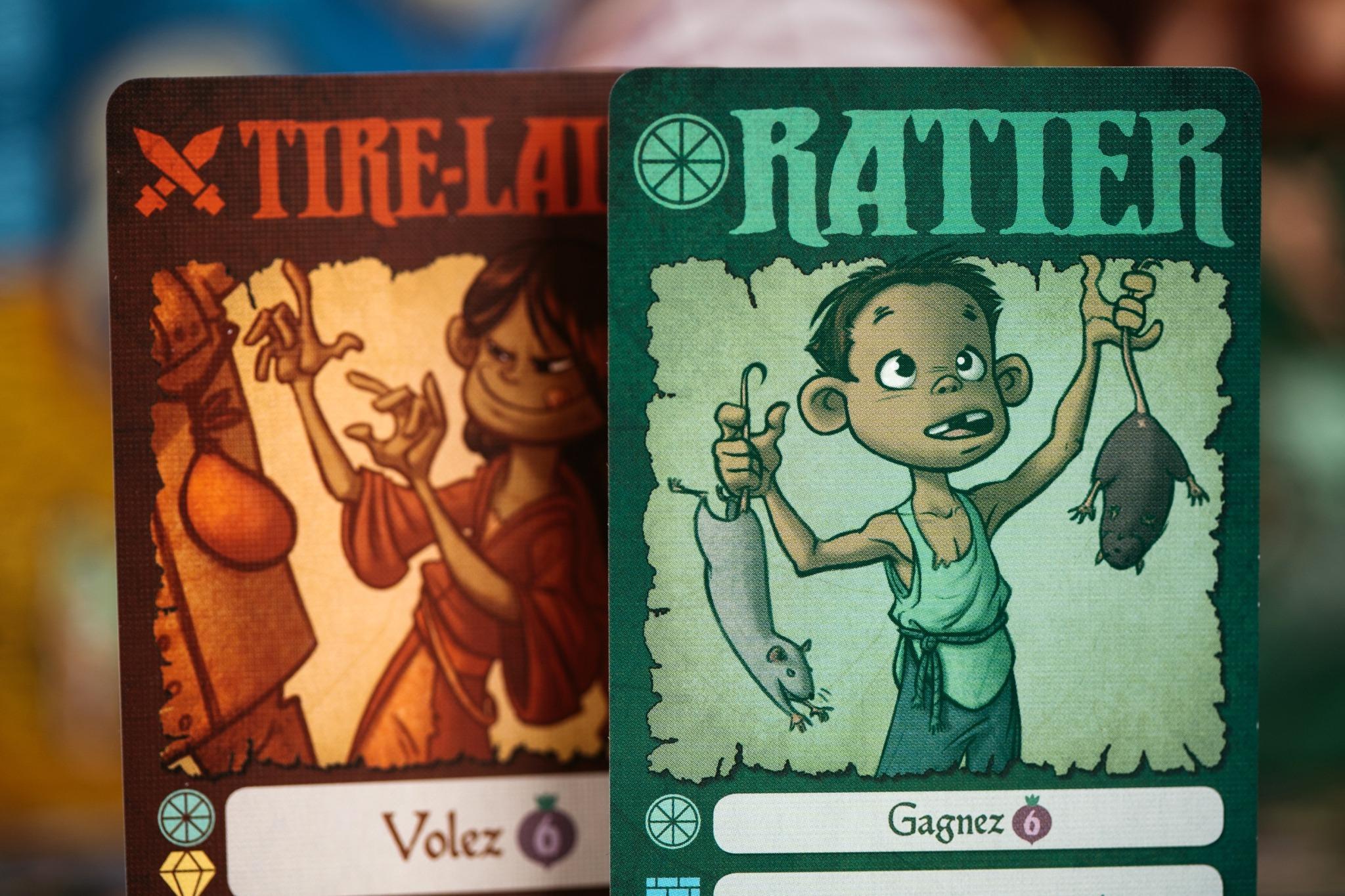 Village pillage origames jeu de société