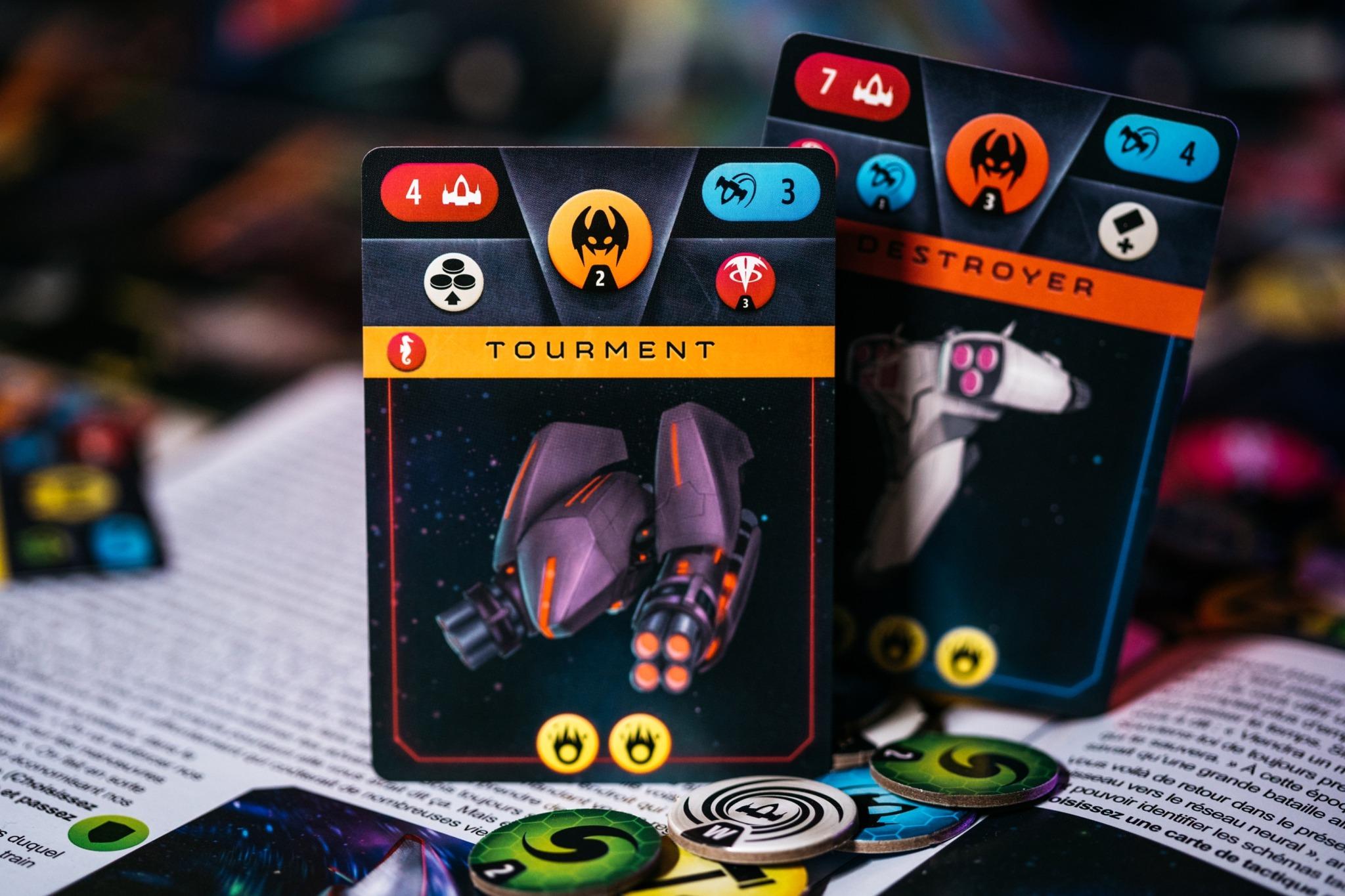 Warp's edge origames jeu de société