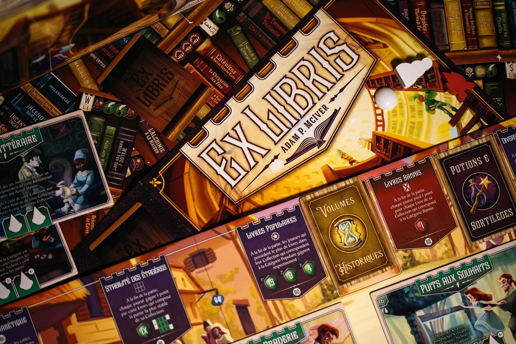 ex libris origames jeu de société