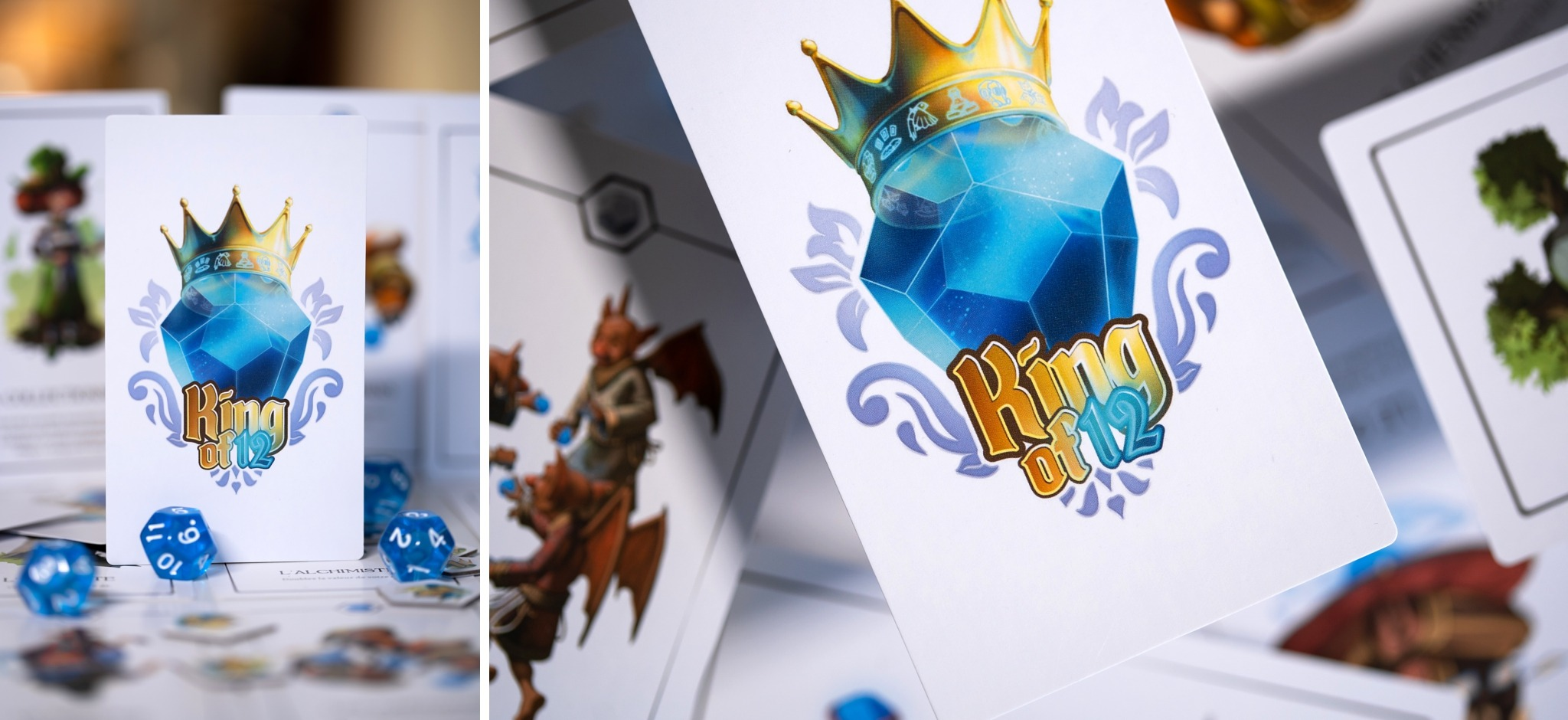 Le roi des 12 lucky duck games jeu de société king of 12