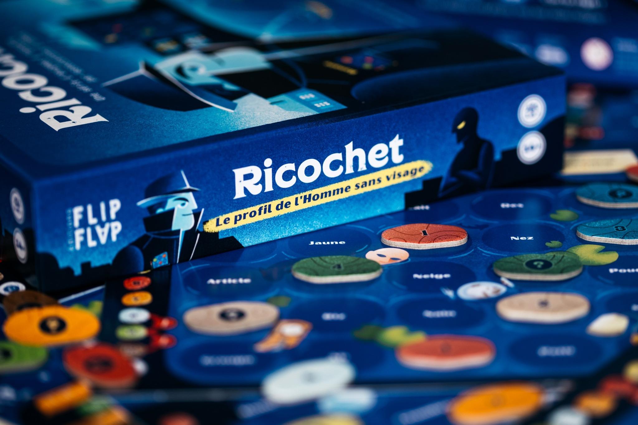 Ricochet flip flap blackrockgames jeu de société