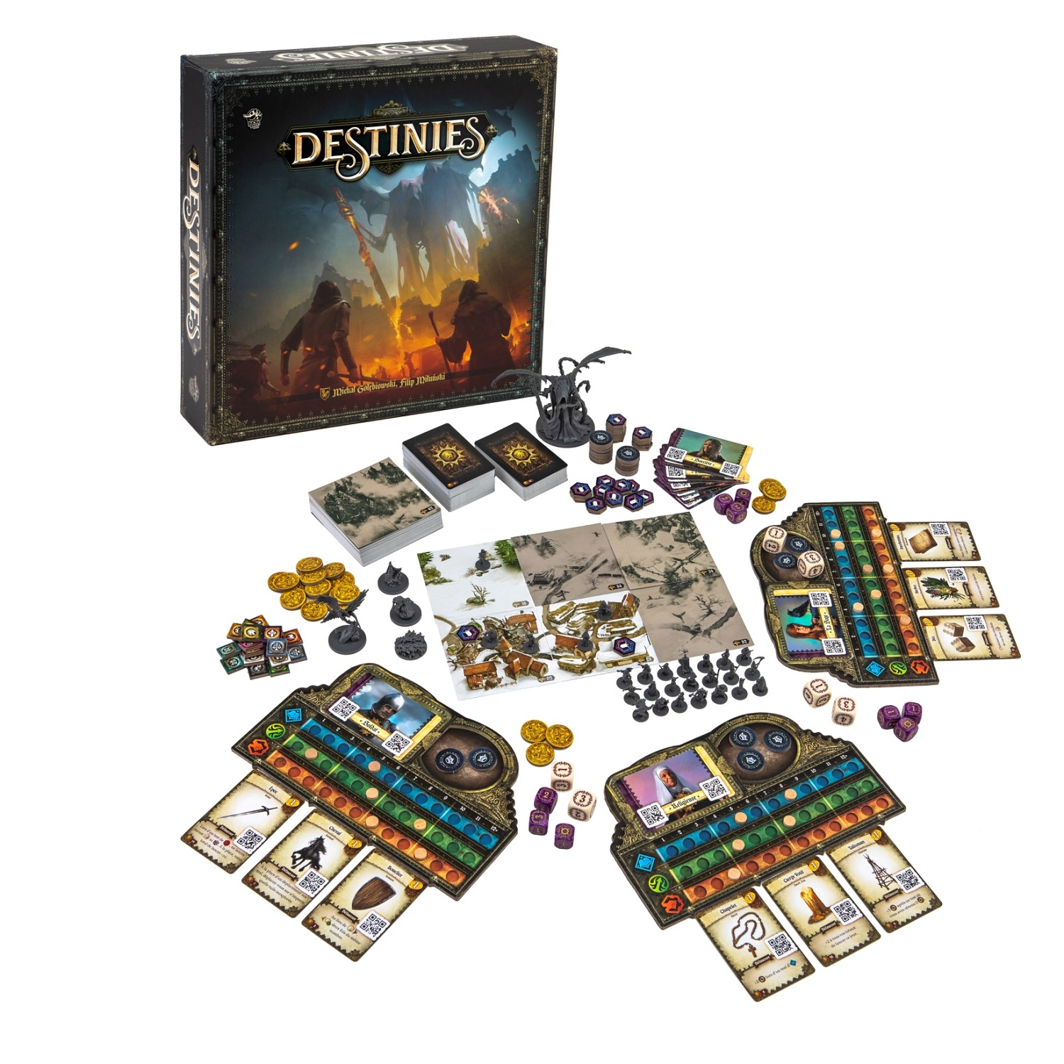 destinies lucky duck games boardgame