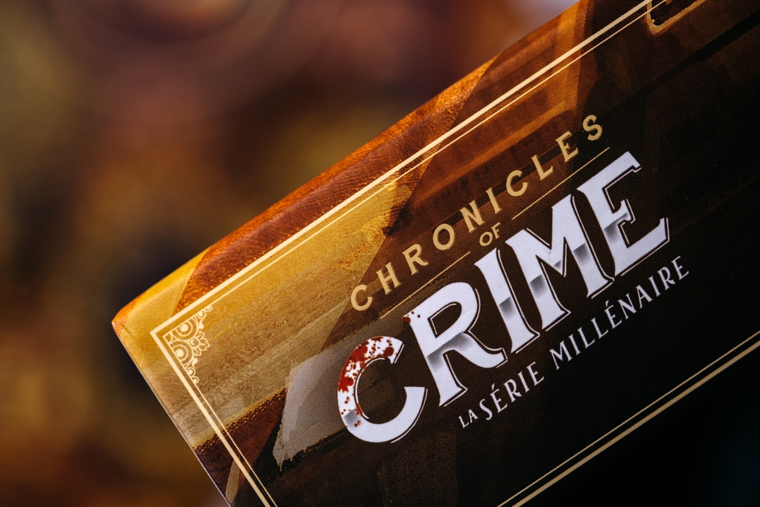 Chronicles of crime 1900 Millenium Lucky duck games boardgame