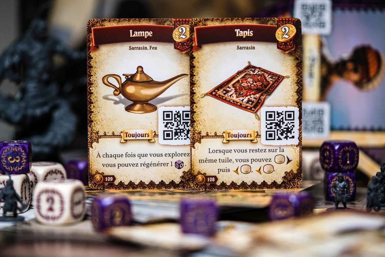 Destinies mer de sable lucky duck games boardgame