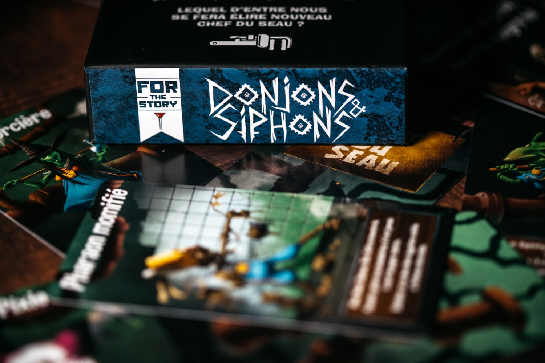 Donjons & Siphons Bragelonne Gigamic