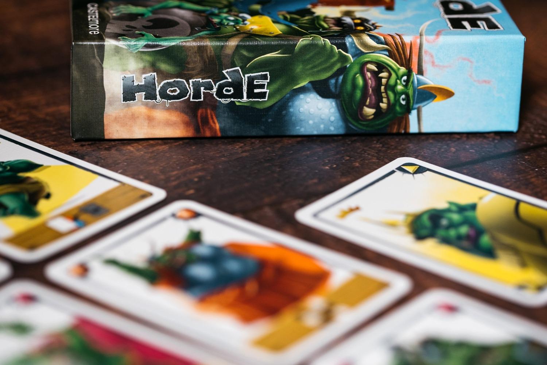 Horde Bragelonne Gigamic Dans la boite jeu de société